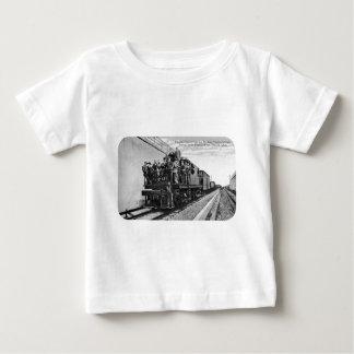 Detroit River Railroad Tunnel Baby T-Shirt