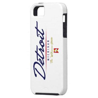 Detroit Script iPhone 5 Cases