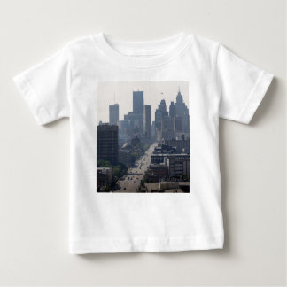 Detroit Skyline Baby T-Shirt