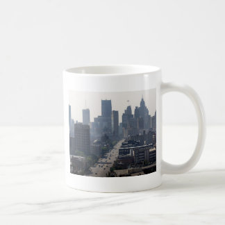 Detroit Skyline Coffee Mug