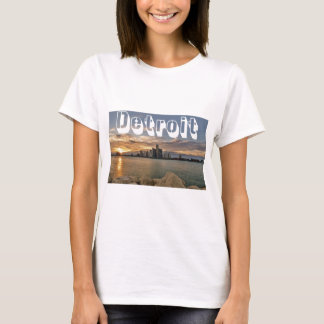 Detroit Skyline T-Shirt