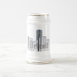 Detroit (stein) beer stein