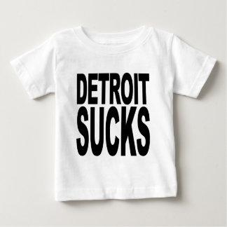 Detroit Sucks Baby T-Shirt