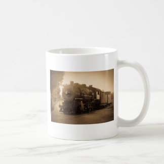 Detroit Terminal Railroad Engine at Adrian MI Coffee Mug