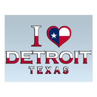 Detroit, Texas Postcard