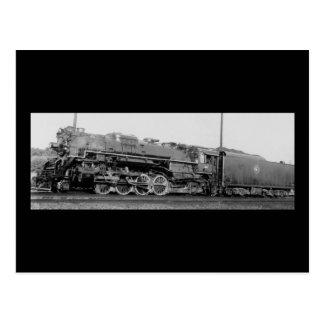 Detroit Toledo & Ironton Railroad Engine 811 Postcard