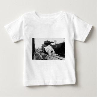 Detroit Toledo & Ironton Railroad Snow Plow Baby T-Shirt