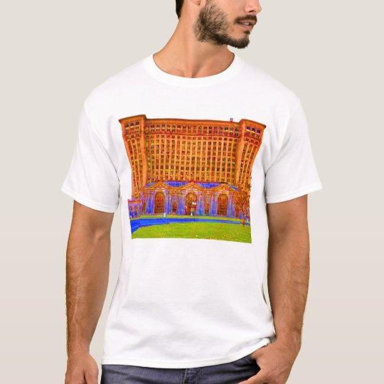 detroit train station odd colour T-Shirt