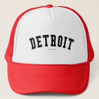 Detroit Trucker Hat