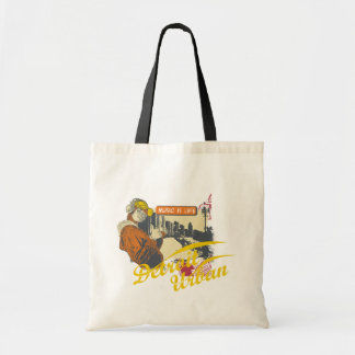 Detroit Urban T-shirts and Gifts Tote Bags