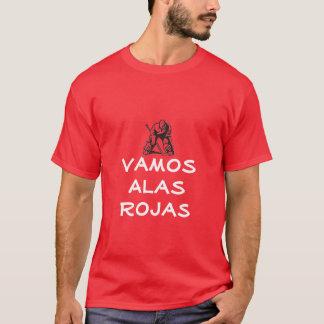 Detroit Vamaos Alas Rojas T-Shirt