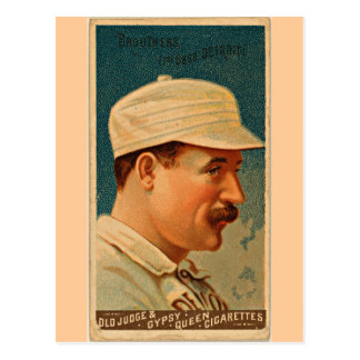 Detroit Wolverines, 1888, Vintage Baseball Card