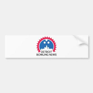 DetroitBowlingNews.com Bumper Sticker