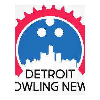 DetroitBowlingNews.com Letterhead