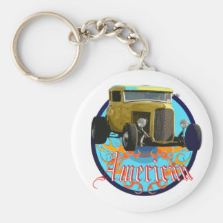 Deuce coupe keychain