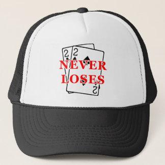 Deuces never loses hat
