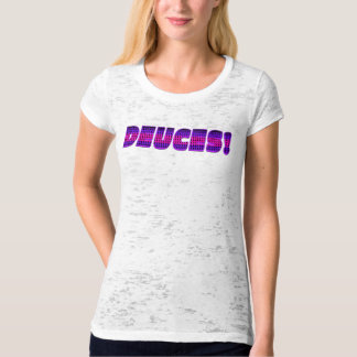 Deuces - Pink and Purple T-Shirt