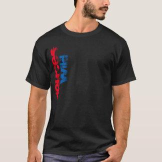 deuces wild fancy text fashion t-shirt design