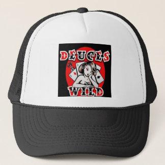 Deuces Wild Trucker Hat