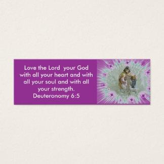Deut. 6:5 Witness Card