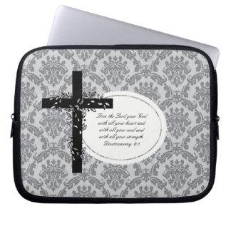 Deuteronomy 6:5 Laptop/Netbook Carrier Sleeve