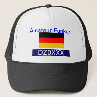 Deutsch Ham Radio Kappe. Trucker Hat