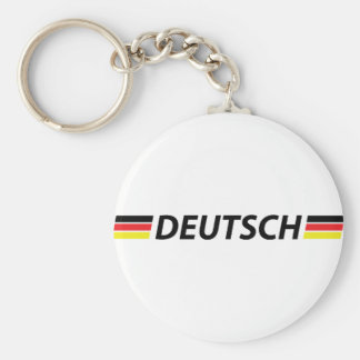 deutsch icon keychain