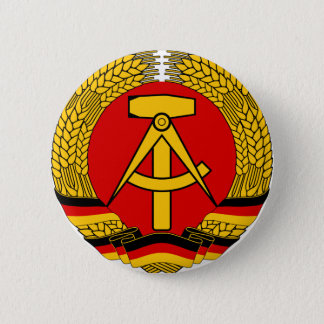 Deutsche Demokratische Republik 2 Inch Round Button