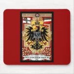 Deutsches Reich ~ Vintage German WW1 Poster Mouse Pad