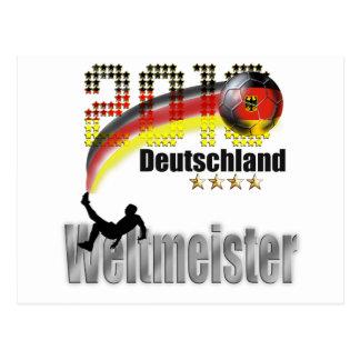 Deutschland 2014 weltmeister postcard