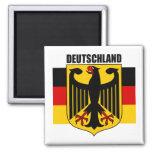 Deutschland 2 square magnet