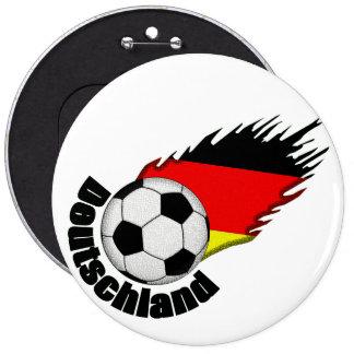 deutschland 6 inch round button