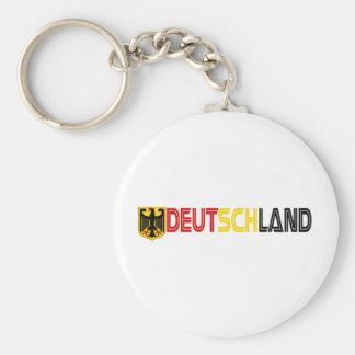 Deutschland Cool Products! Basic Round Button Keychain