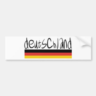 Deutschland Design! Bumper Sticker
