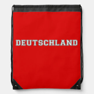 Deutschland Drawstring Bag