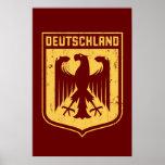 Deutschland Eagle -  German Coat of Arms Posters