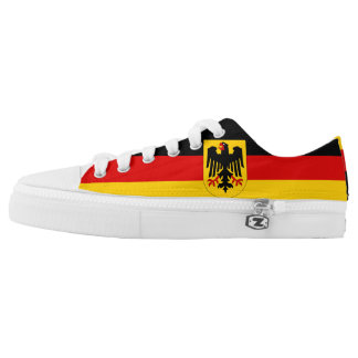 Deutschland Flagge Low-Top Sneakers