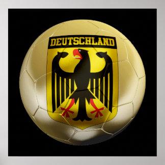 Deutschland Football1 Poster