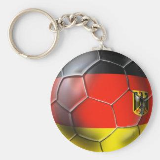 Deutschland Fußball 2010 soccer ball gifts Basic Round Button Keychain