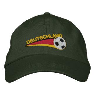 Deutschland fussball embroidered cap
