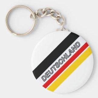 Deutschland Germany fussball #6 Basic Round Button Keychain