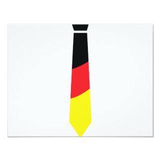 deutschland krawatte card