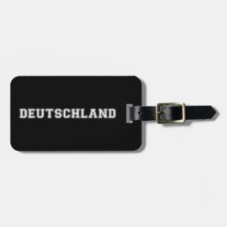 Deutschland Luggage Tag