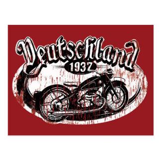 Deutschland Motowear Postcard