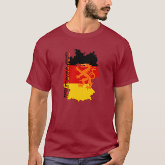 Deutschland Oktoberfest Fall Colors T-Shirt