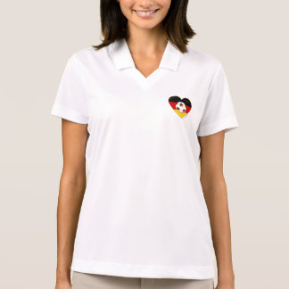 """DEUTSCHLAND"" Soccer Team. Soccer of Germany 2014 Polo T-shirt"