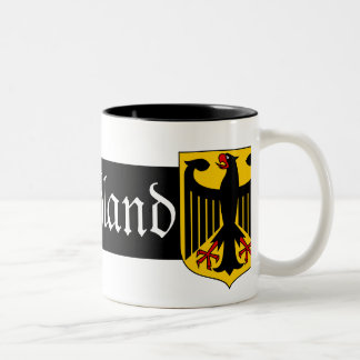 Deutschland Two-Tone Coffee Mug