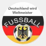 Deutschland wird Weltmeister Stickers
