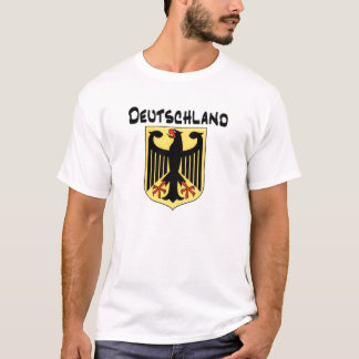 Deutschland with German Eagle T-Shirt