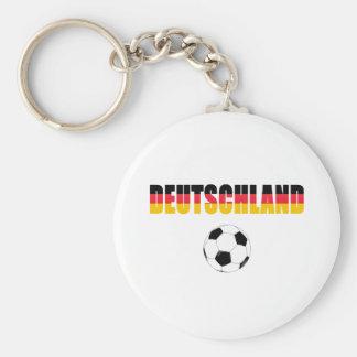 Deutschland World Cup 2010 Basic Round Button Keychain
